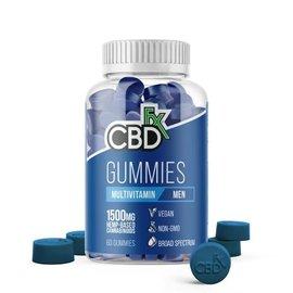 cbdFX CBDfx Hemp Gummies - Men's Multi Vitamin -  1500mg - 60ct Bottle