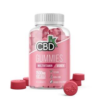 cbdFX CBDfx Hemp Gummies - Women's Multi Vitamin - 1500mg - 60ct Bottle