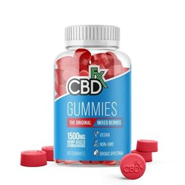 cbdFX CBDfx Hemp Gummies - Mixed Berries - 1500mg - 60ct Bottle