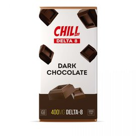 Chill Chill Plus Delta-8 THC Chocolate Bar - 400MG