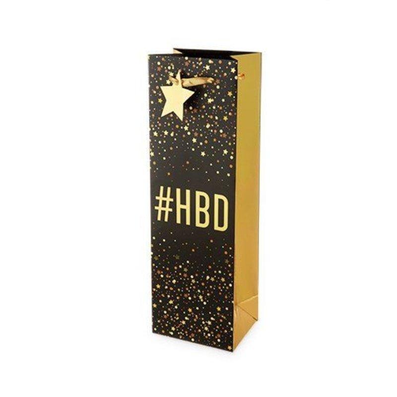 Cakewalk #HBD Single Bottle Wine Gift Bag