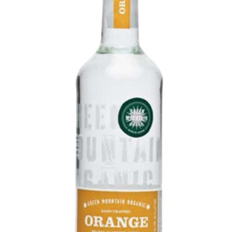 Green Mountain Distillers Orange Vodka