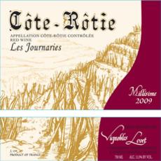 Bernard Levet Cote Rotie 'Les Journaries' 2017