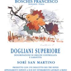 Boschis Francesco Dogliani Superiore Vigne Sori San Martino 2017