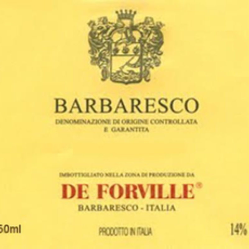 De Forville Barbaresco 2017