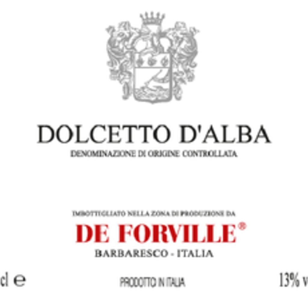 De Forville Dolcetto D'Alba 2019