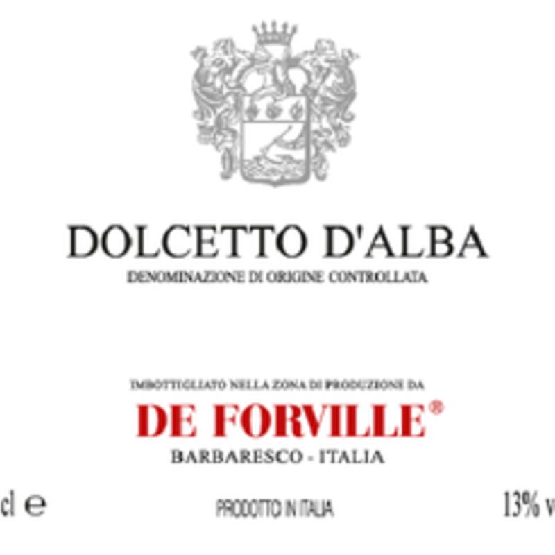 De Forville Dolcetto d'Alba 2020