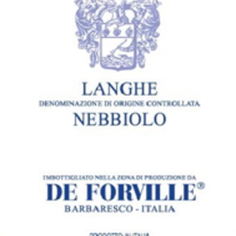 De Forville Nebbiolo D'Alba 2019