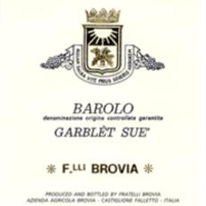 Brovia Garblet Sue Barolo 2016