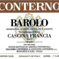 Giacomo Conterno Francia Barolo 2012