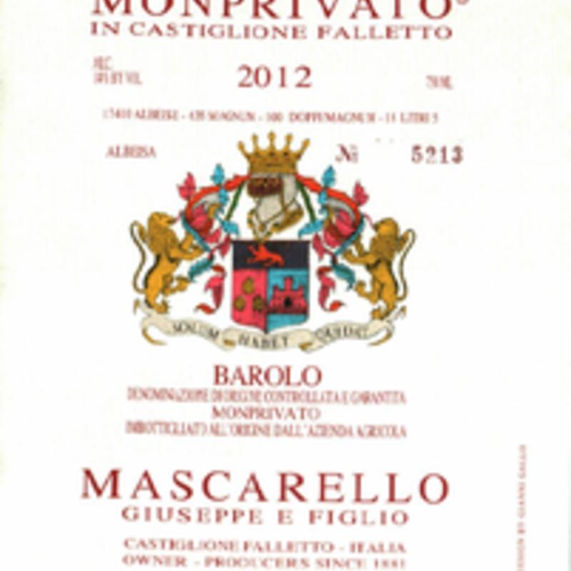 Giuseppe Mascarello Monprivato 2012