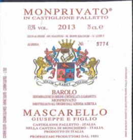 Giuseppe Mascarello Monprivato 2013