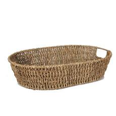 Bin 604 Wine + Spirits Michaela Oval Sea Grass Gift Basket