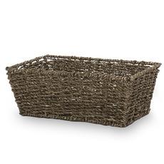 Bin 604 Wine + Spirits Michaela Rectangle Sea Grass Gift Basket
