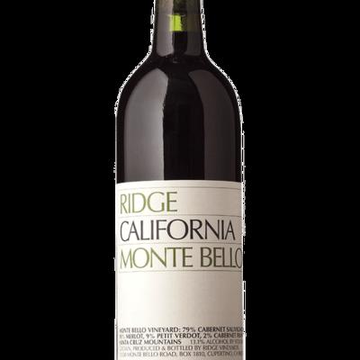 """Ridge """"Montebello"""" Cabernet Sauvignon 2016"""