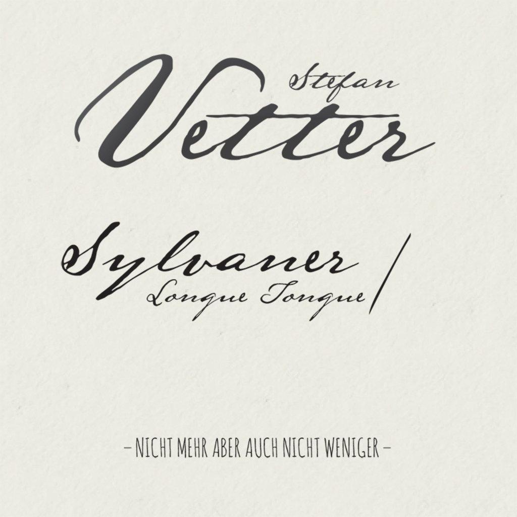 Stefan Vetter Sylvaner Longue Tongue 2019