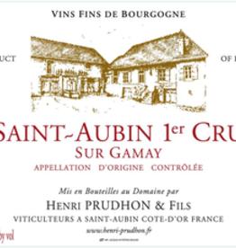 Prudhon Sur Gamay Saint Aubin 2017