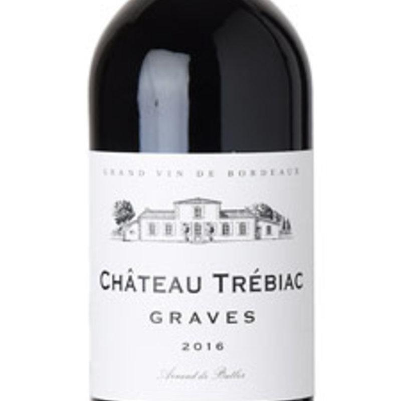 Chateau Trebiac Graves Rouge 2016
