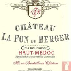 Chateau La Fon du Berger Haut-Medoc 2015