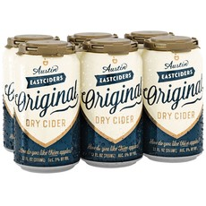Austin Eastcider Original Dry Cider, 6-Pack