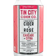 "Tin City Cider Company ""Poly Dolly"" Cider Rose"