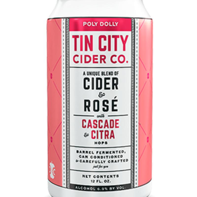 Tin City Cider Company Polly Dolly Cider Rose