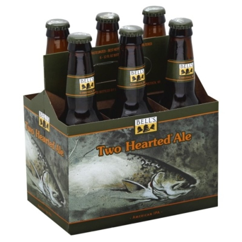 Bell's Brewery Two Hearted Ale American IPA, 6-Pack