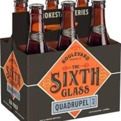 Boulevard Brewing Company The 6th Glass Quadrupel Ale, 6-Pack Copy