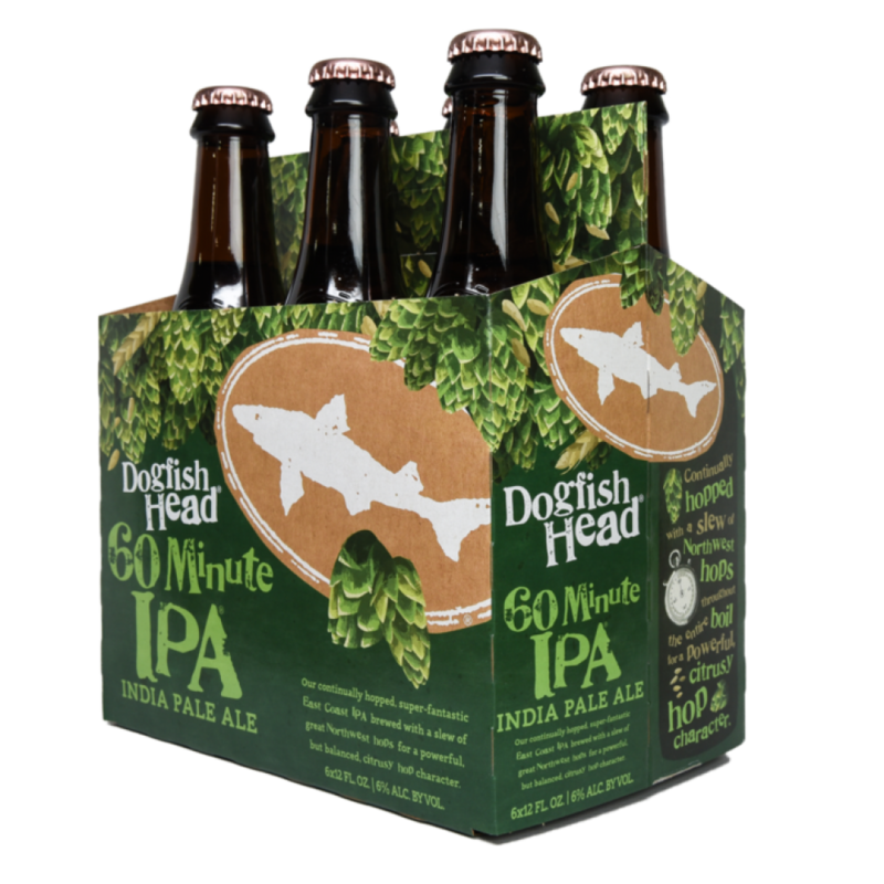Dogfish Head 60 Minute IPA 6-Pack Bottles