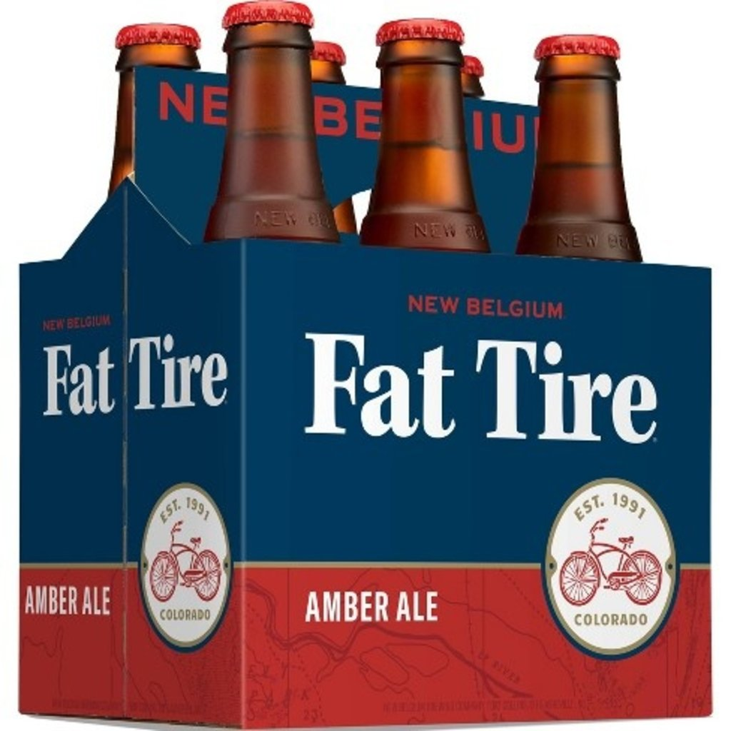 New Belgium Brewing Company Fat Tire Amber Ale, 6-Pack