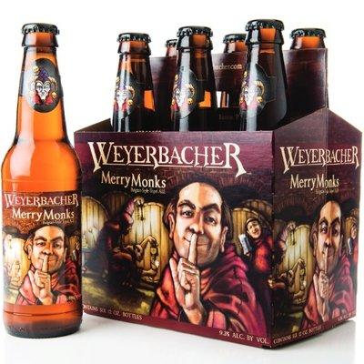 Weyerbacher Merry Monk's Ale, 6-Pack