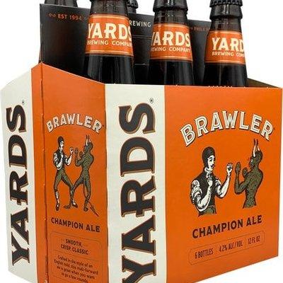 Yards Brewing Company Brawler Champion Ale, 6-Pack