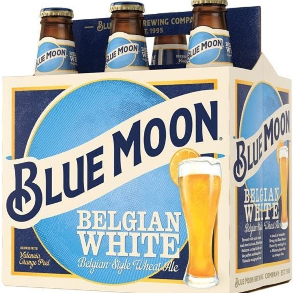Blue Moon, 6-Pack Bottle