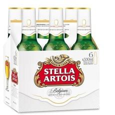 Stella Artois 6-Pack Bottles