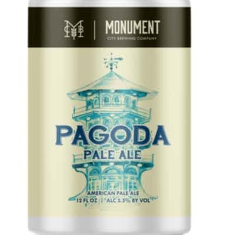 Monument City Brewing Pagoda Pale Ale 6-Pack