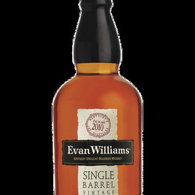 Evan Williams Single Barrel Vintage Kentucky Straight Bourbon