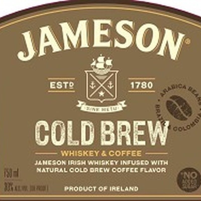 Jameson Irish Whiskey Cold Brew 50mL