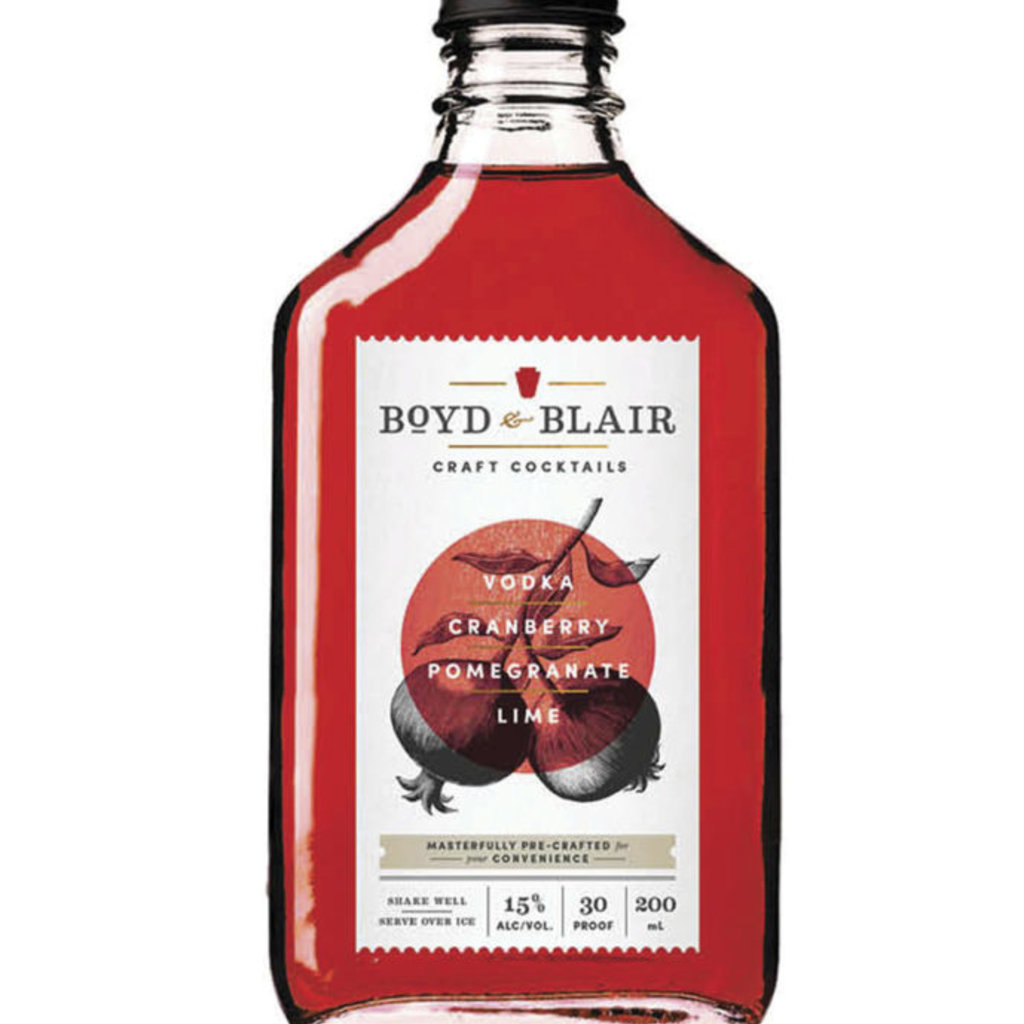 Boyd & Blair Craft Cocktails Pomegranate Codder 200mL