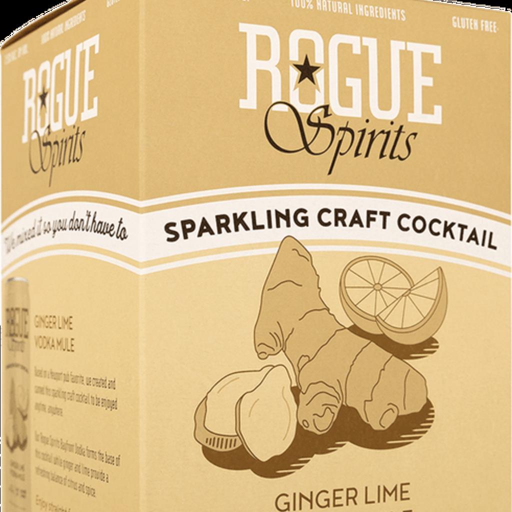 Rogue Ginger Lime Vodka Mule 4-Pack