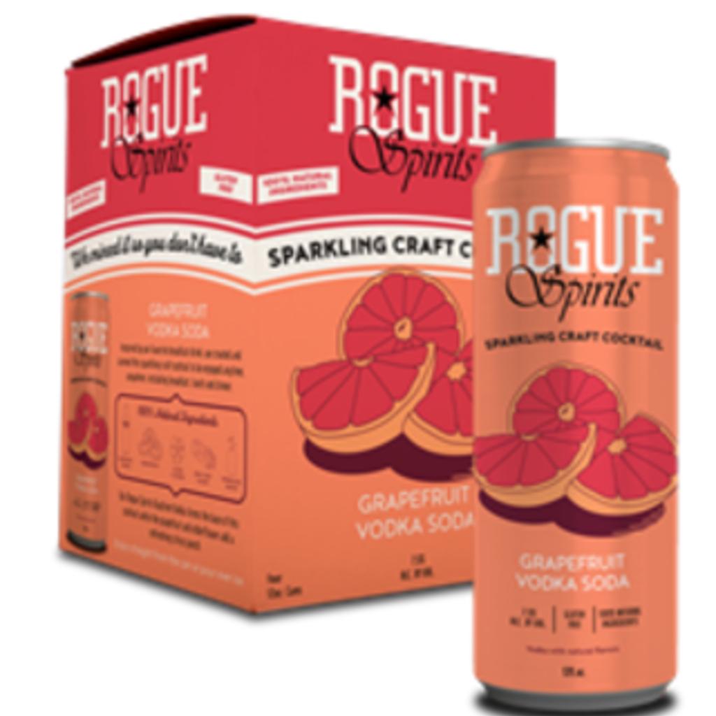 Rogue Grapefruit Vodka Soda 4-Pack