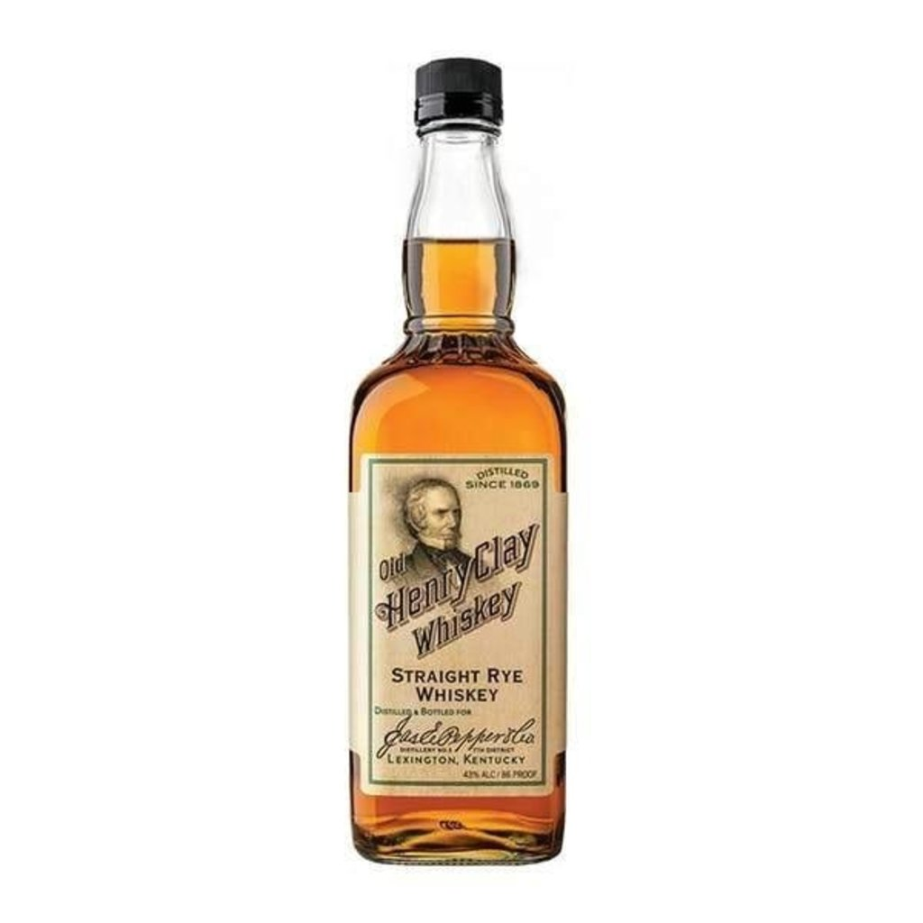 James E. Pepper Old Henry Clay Straight Rye Whiskey