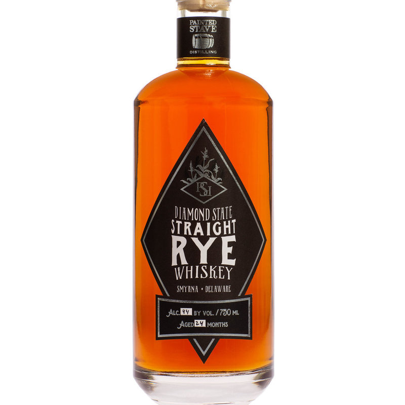 Painted Stave Distilling Diamond State Straight Rye Whiskey