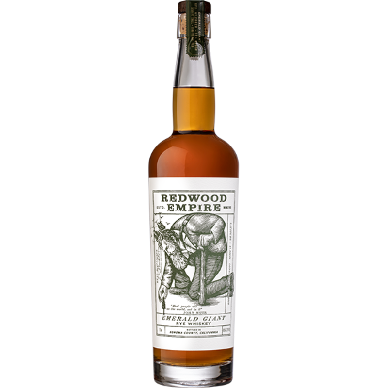 Redwood Empire Emerald Giant Rye Whiskey