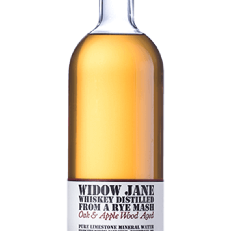 Widow Jane Applewood Oak Aged Rye Whiskey