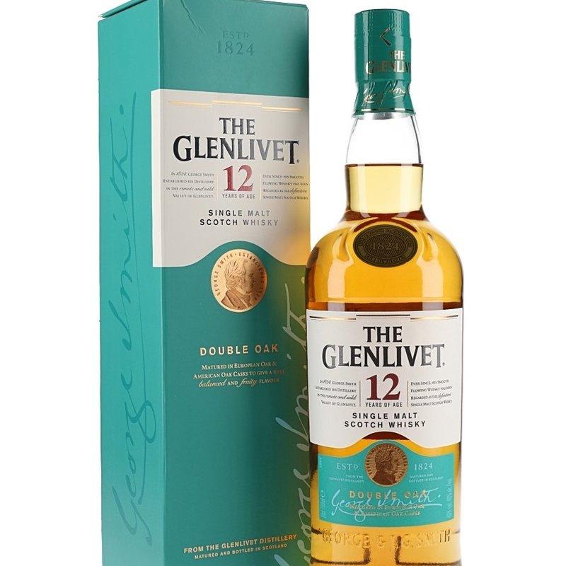 Glenlivet 12 Year Single Malt Scotch