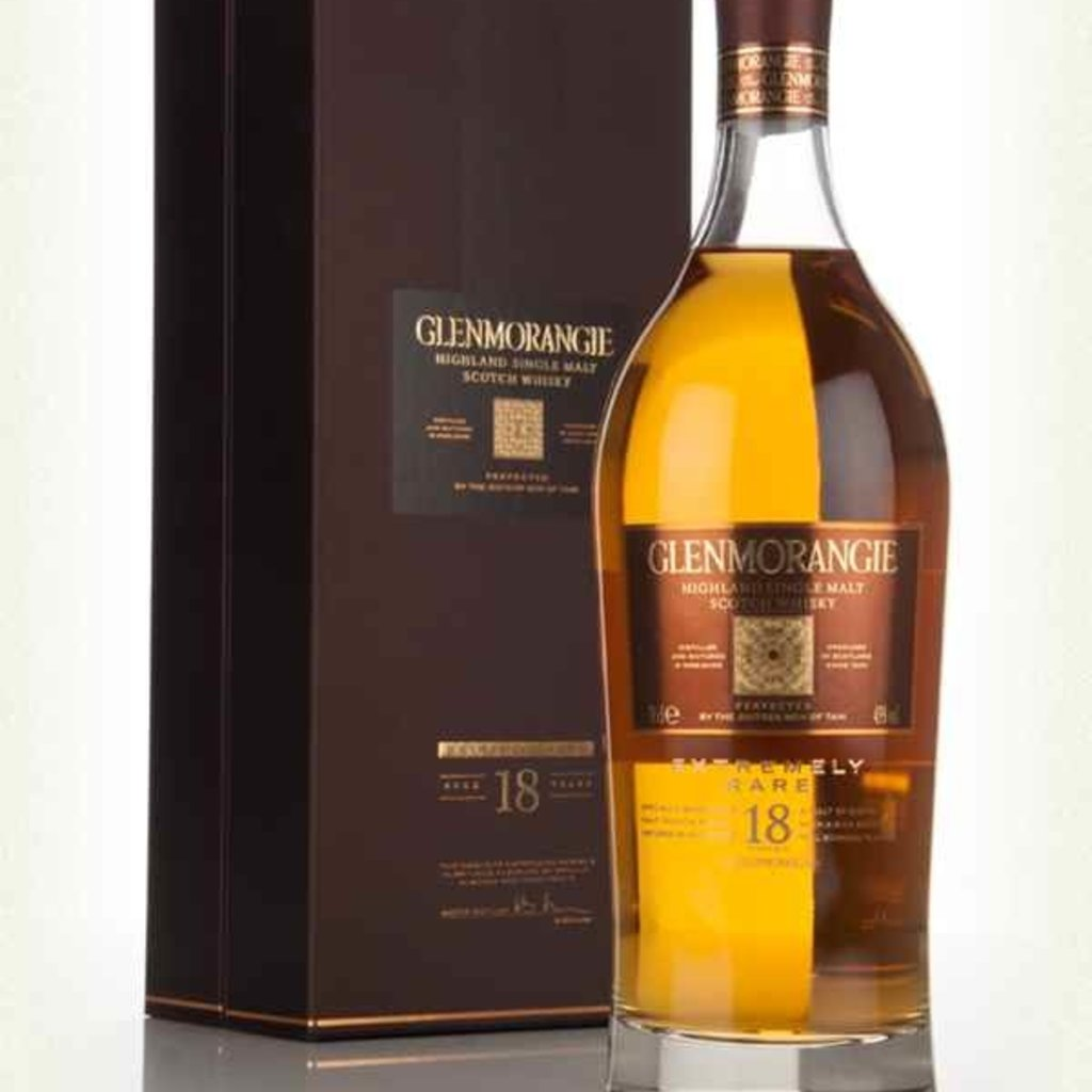 Glenmorangie 18 Year Single Malt Scotch