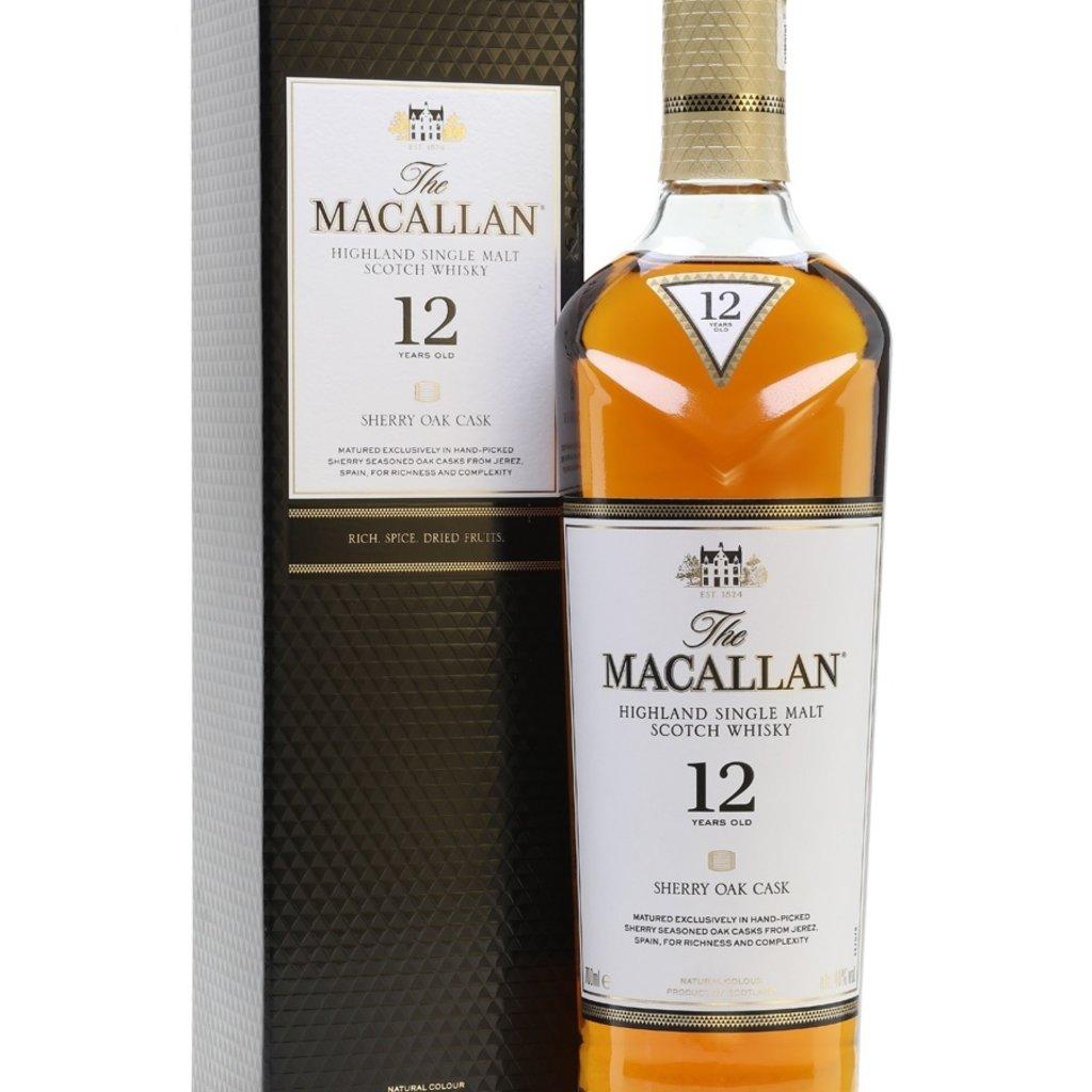 Macallan 12 Year Single Malt Scotch