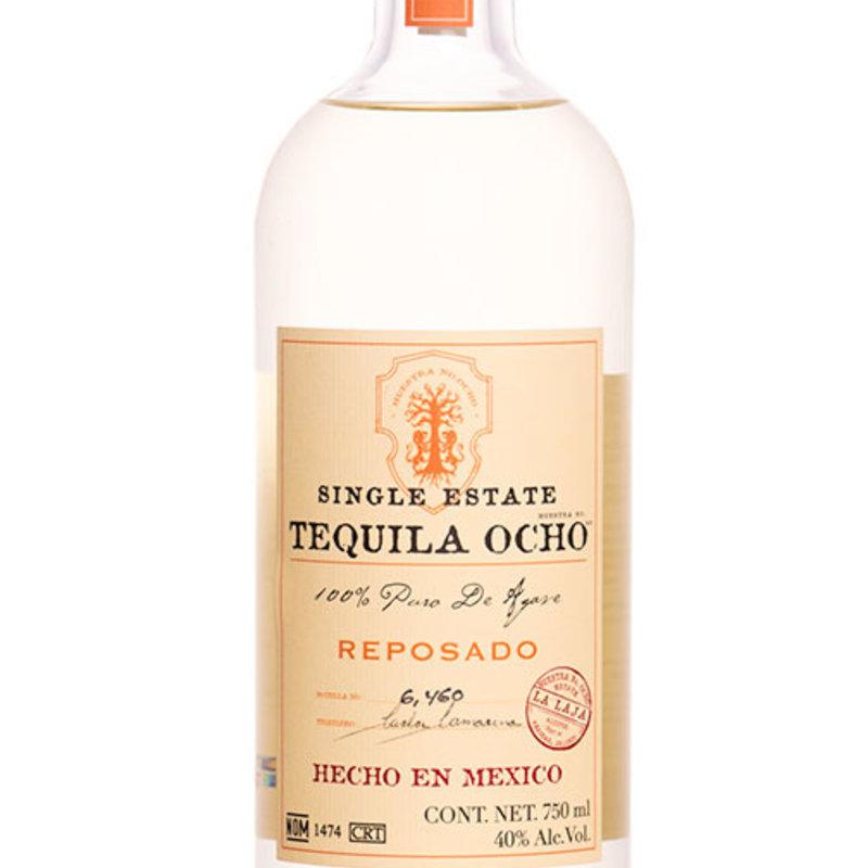 Tequila Ocho Reposado El Bajo 2018