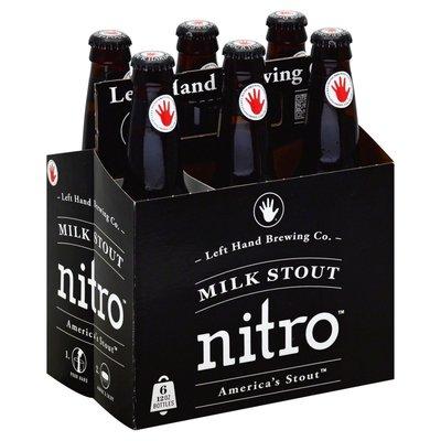 Left Hand Brewing Milk Stout Nitro, 6-Pack