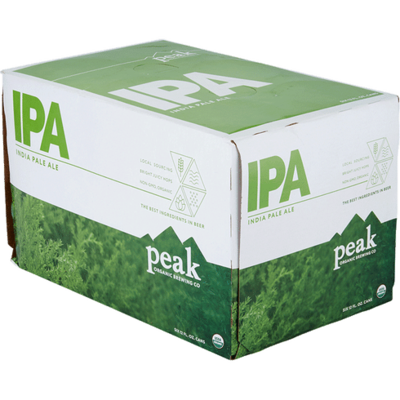 Peak Brewing Organic IPA, 6-Pack